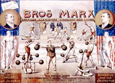 Bros. Marx Strongman