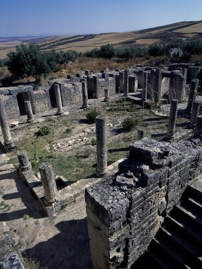 Brothel of House of Clover, Ancient Roman City of Thugga or Dougga--Photographic Print