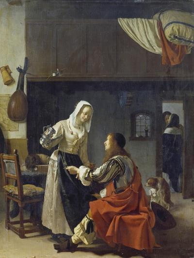 Brothel Scene, 1658-Frans Van Mieris-Giclee Print