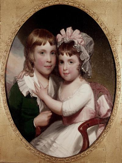 Brother and Sister-Thomas Sully-Giclee Print