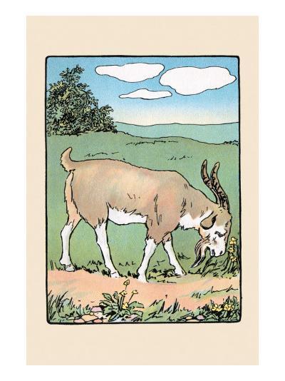Brother Bill the Billy Goat-Julia Dyar Hardy-Art Print