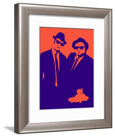 Brothers Poster-Anna Malkin-Framed Art Print