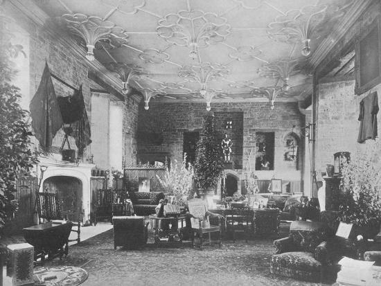 'Broughton Castle, Banbury - The Lord Save and Sele', 1910-Unknown-Photographic Print