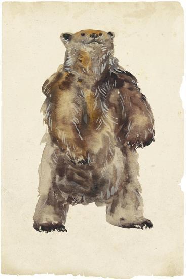 Brown Bear Stare I-Melissa Wang-Art Print
