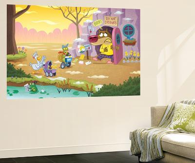Brown Bear Stumbled from His Den - Turtle-Gary LaCoste-Wall Mural