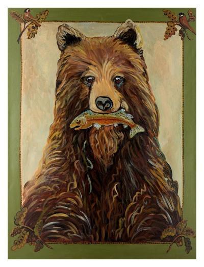 Brown Bear-Suzanne Etienne-Art Print