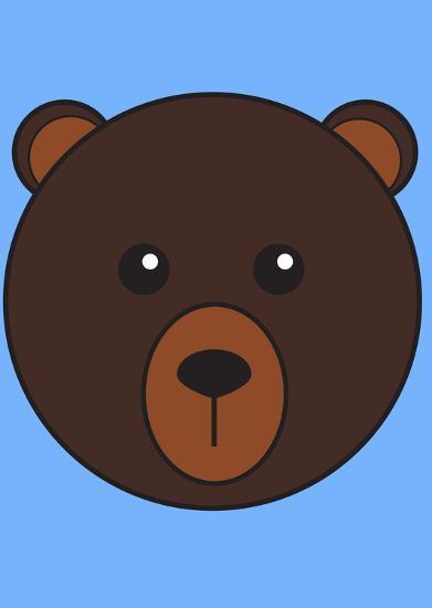 Brown Bear--Art Print