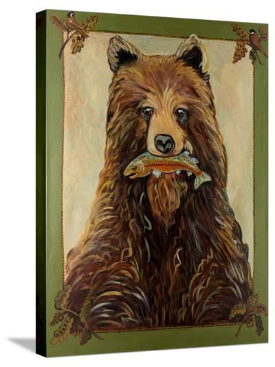 Brown Bear-Suzanne Etienne-Stretched Canvas Print