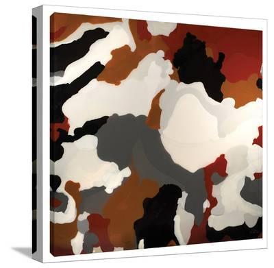 Brown Camo-Barbara Biolotta-Stretched Canvas Print
