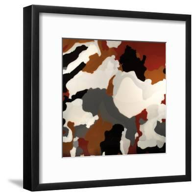 Brown Camo-Barbara Bilotta-Framed Art Print