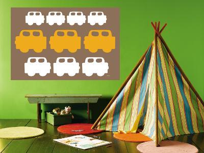 Brown Cars-Avalisa-Wall Mural