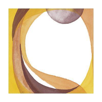 Brown Geometric I-Chris Paschke-Premium Giclee Print