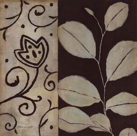 Brown Leaf I-Stephanie Marrott-Art Print