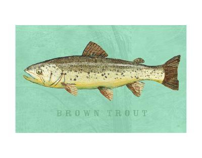 Brown Trout-John W^ Golden-Art Print