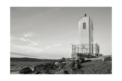 Browns Point Lighthouse-Steve Bisig-Premium Photographic Print