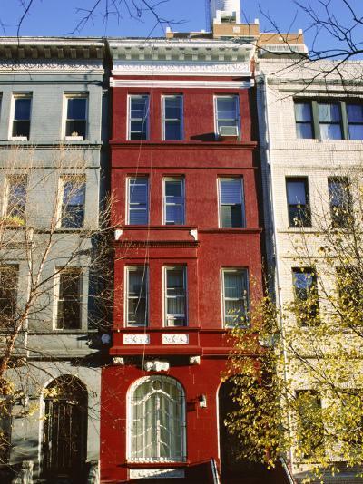 Brownstone, Upper West Side, New York City, New York, USA-Ethel Davies-Photographic Print