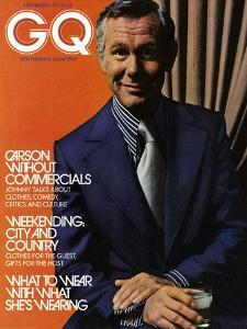 GQ Cover - November 1971 by Bruce Bacon