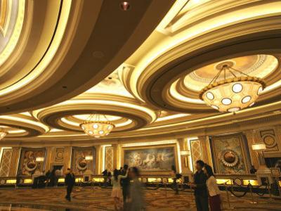 Reception Area of Bellagio Hotel and Casino