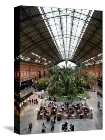Tropical Garden and Cafe in Atocha Railway Station