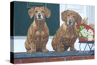Christmas Dogs by Bruce Dumas