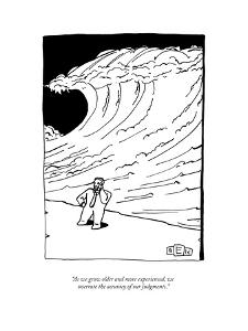 Captionless. Caption Contest CCTK. - New Yorker Cartoon by Bruce Eric Kaplan