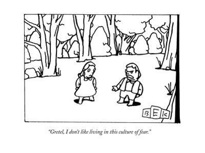 New Yorker Cartoon by Bruce Eric Kaplan