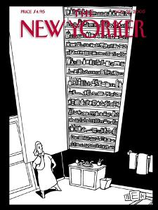 The New Yorker Cover - November 28, 2005 by Bruce Eric Kaplan