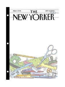 The New Yorker Cover - September 8, 2003 by Bruce Eric Kaplan