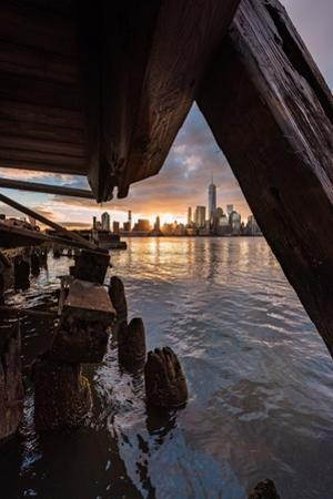 Under the Pier by Bruce Getty