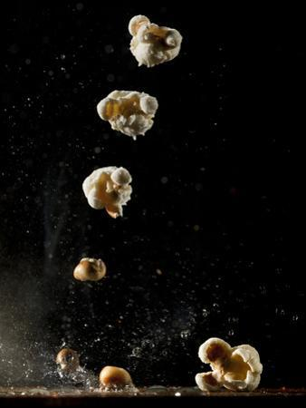 Multiple Exposure of a Single Popping Popcorn by Bruce & Greg Dale