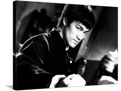 """Bruce Lee. """"The Chinese Connection"""" [1972] (Jing Wu Men), Directed by Wei Lo.--Stretched Canvas Print"""