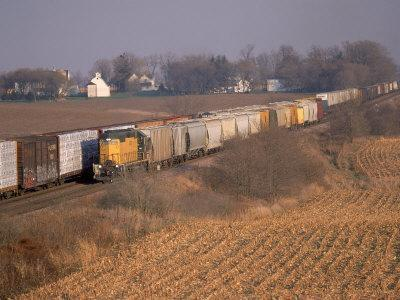 Freight Trains, La Fox, IL