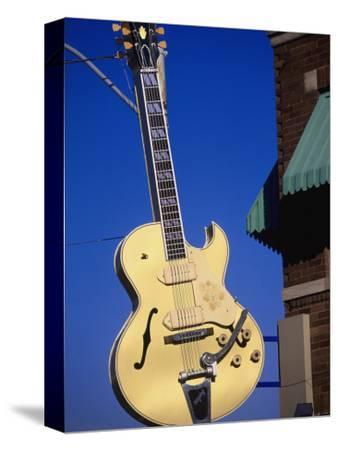 Sun Studio Guitar Sign, Memphis