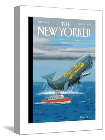 Cap'n Ahab's - The New Yorker Cover, June 30, 2014