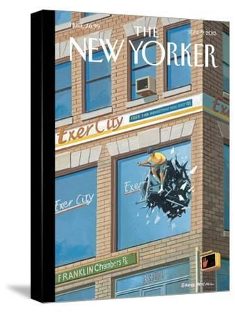 Exercity - The New Yorker Cover, September 9, 2013