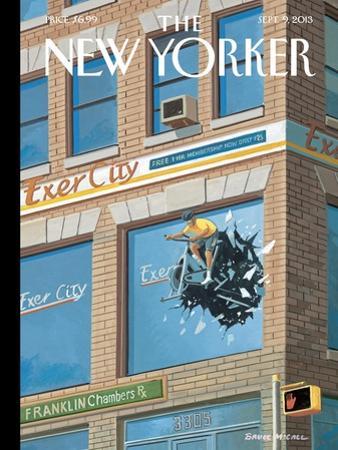 Exercity - The New Yorker Cover, September 9, 2013