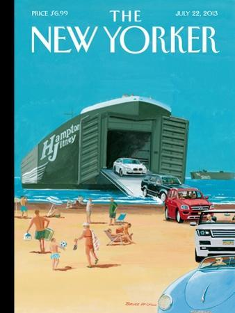 Operation Neptune - The New Yorker Cover, July 22, 2013