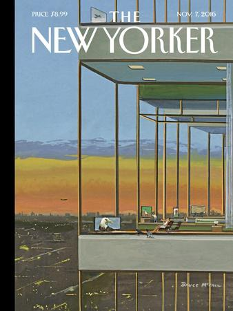 The New Yorker Cover - November 7, 2016