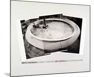 Smoke Rings, 1980 by Bruce Nauman