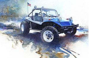 '72 Dune Buggy by Bruce White