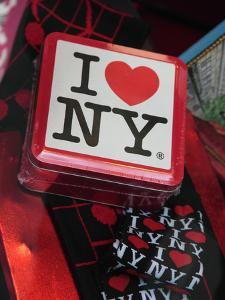 Souvenirs, I Love Ny, for Sale in a Gift Shop in Rockefeller Center, New York City, New York, Usa by Bruce Yuanyue Bi