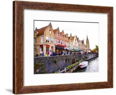 Bruges 58-Tanya Hovey-Framed Giclee Print