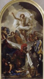La Résurrection du Christ by Brun Charles Le