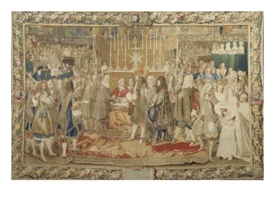 Renouvellement de l'alliance entre la France et les Suisses à Notre Dame de Paris