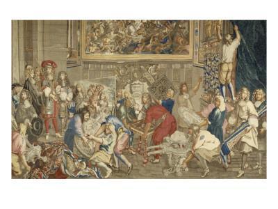 Visit of Louis Xiv at the Gobelins, October 15, 1667