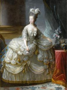 Marie-Antoinette de Lorraine-Habsbourg, archiduchesse d'Autriche, reine de France (1755-1795) by Brun Elisabeth Louise Vigée-Le