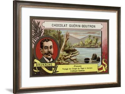 Brunache, French Explorer--Framed Giclee Print