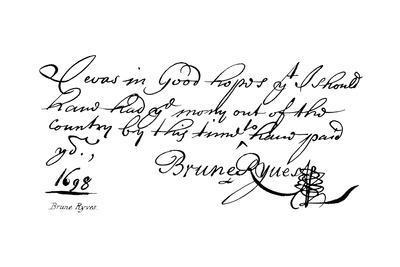 Brune Ryves--Giclee Print