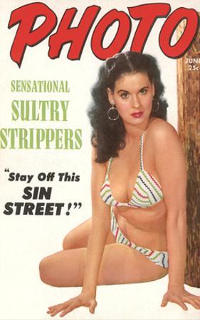 Brunette in Bikini, Sin Street