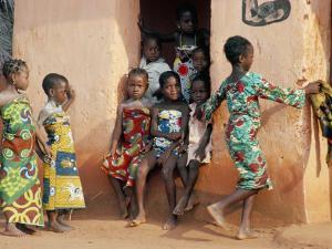 Agboli-Agbo Dedjlani, Abomey, Benin (Dahomey), Africa by Bruno Barbier